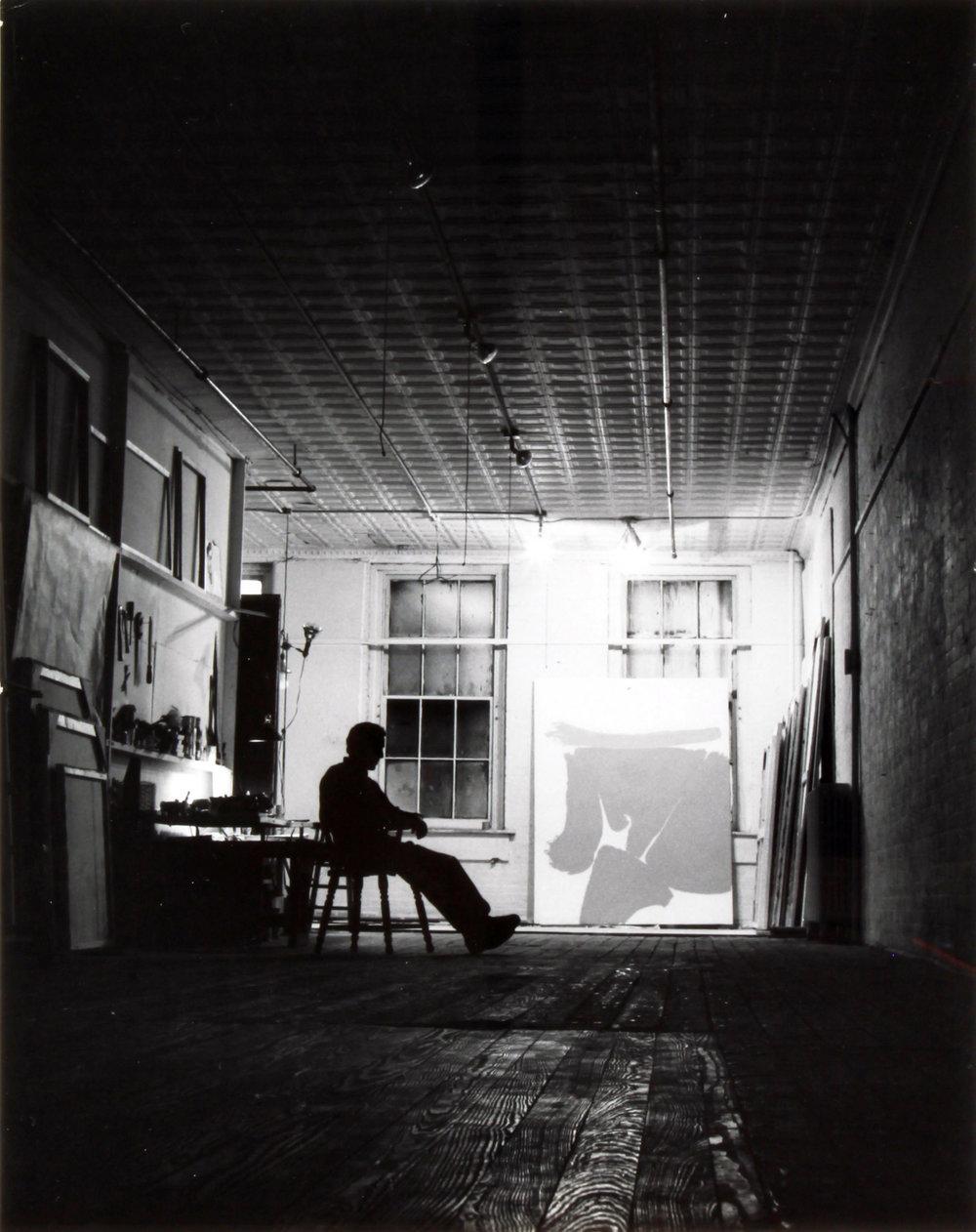 Hollis Frampton | Friedebald (Friedel) Dzubas (1963)