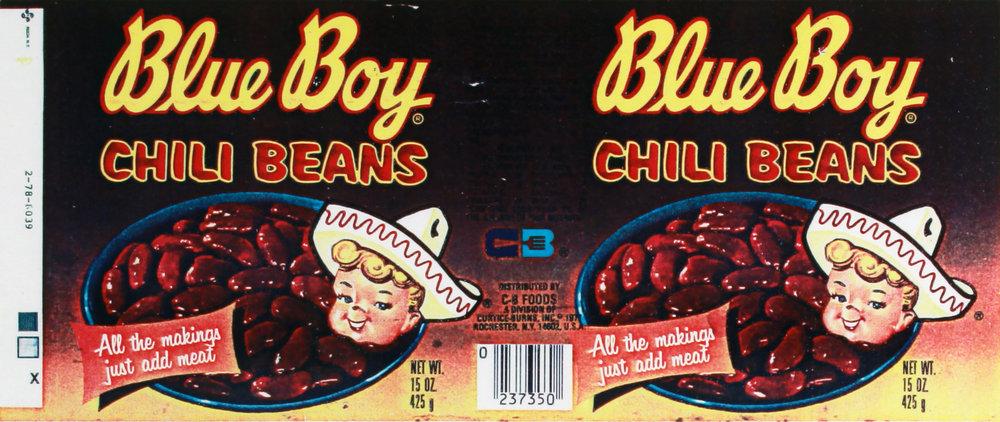 Hollis Frampton   Chili Bean Brand Blue Boys   1979