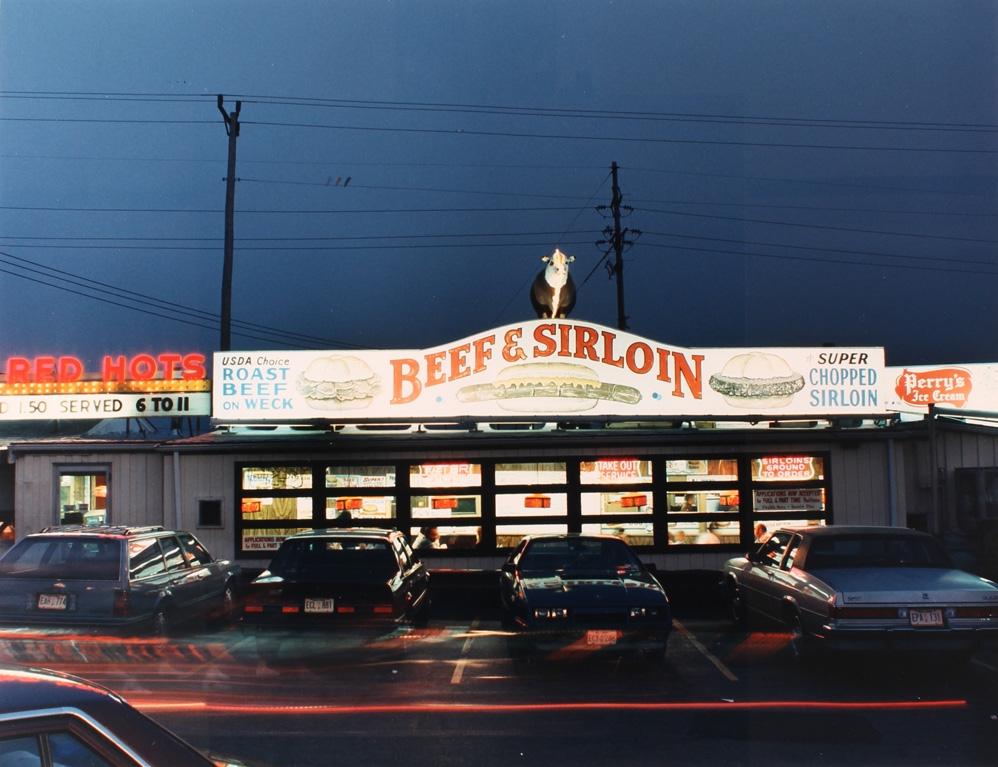 Marion Faller | Beef and Sirloin restaurant, Genesee St., Cheektowaga (1987)