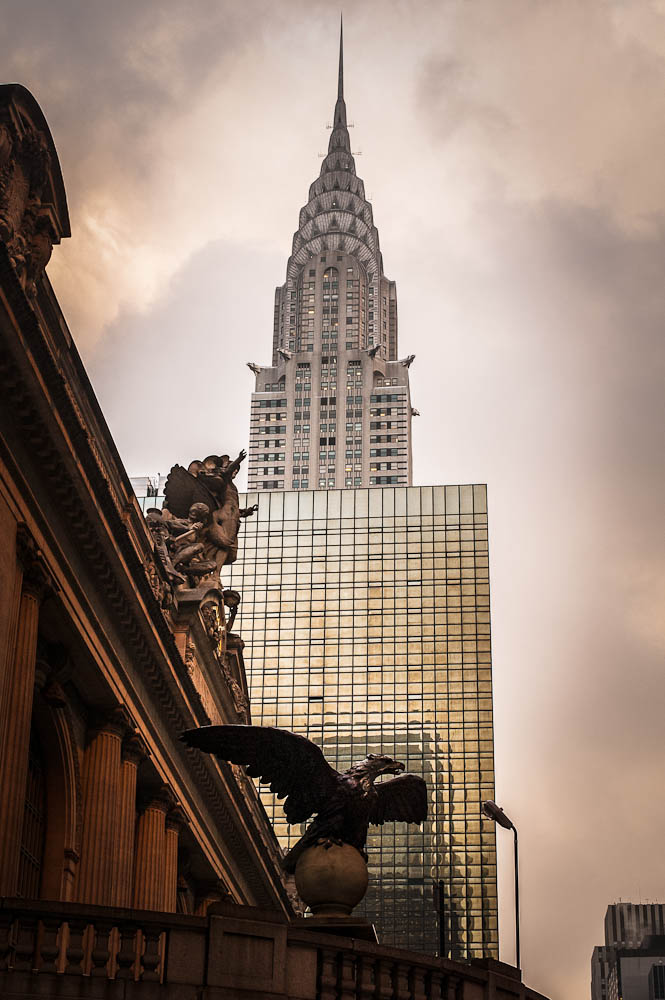 Chrysler Building & Grand Central, New York