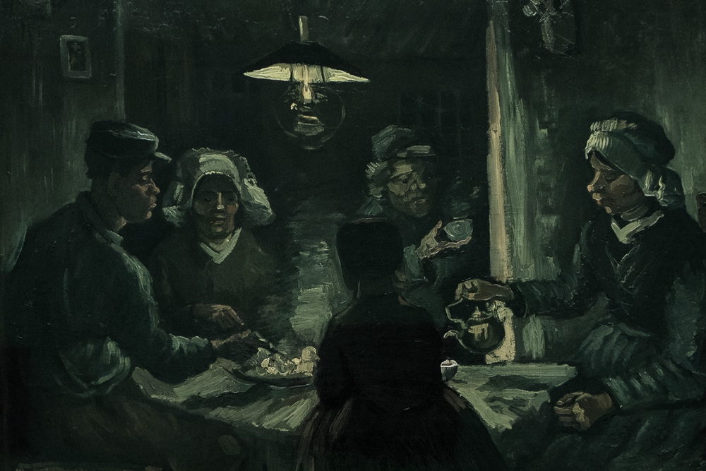 Van Gogh - The Potato Eaters
