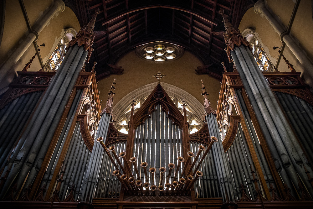 Melbourne Cathedral Organ