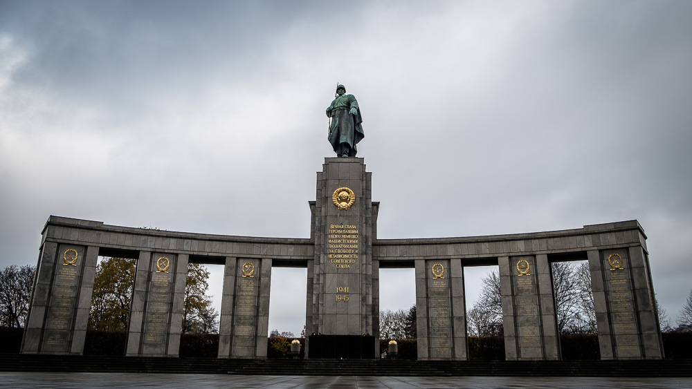 Soviet War Memorial in the Teirgarten