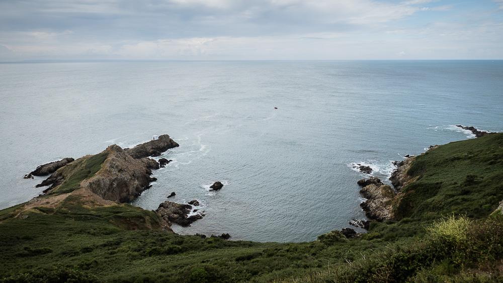 Guernsey shoreline
