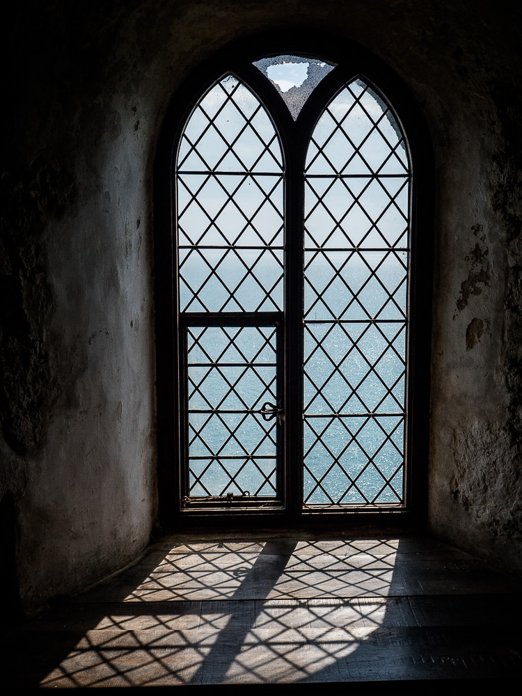 Windows in Mont Orgueil