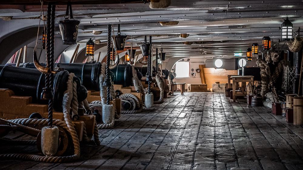 HMS Victory Gun Deck