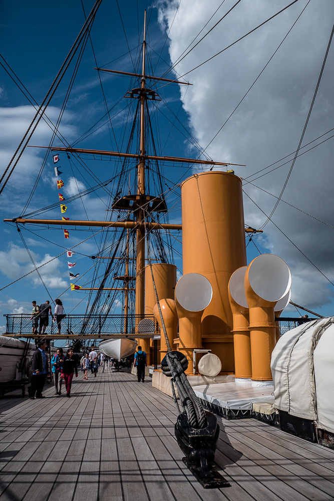HMS Warrior main deck
