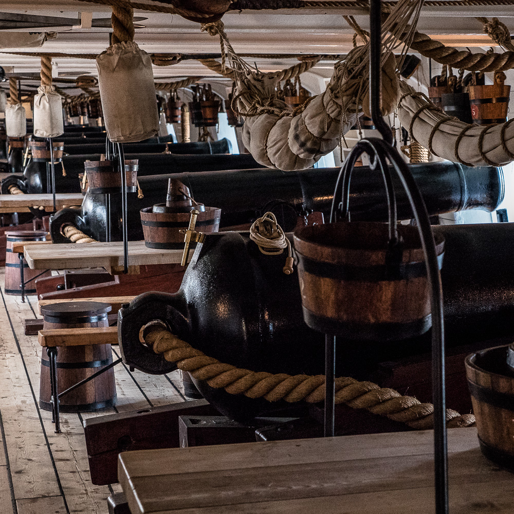 HMS Warrior Gun Deck