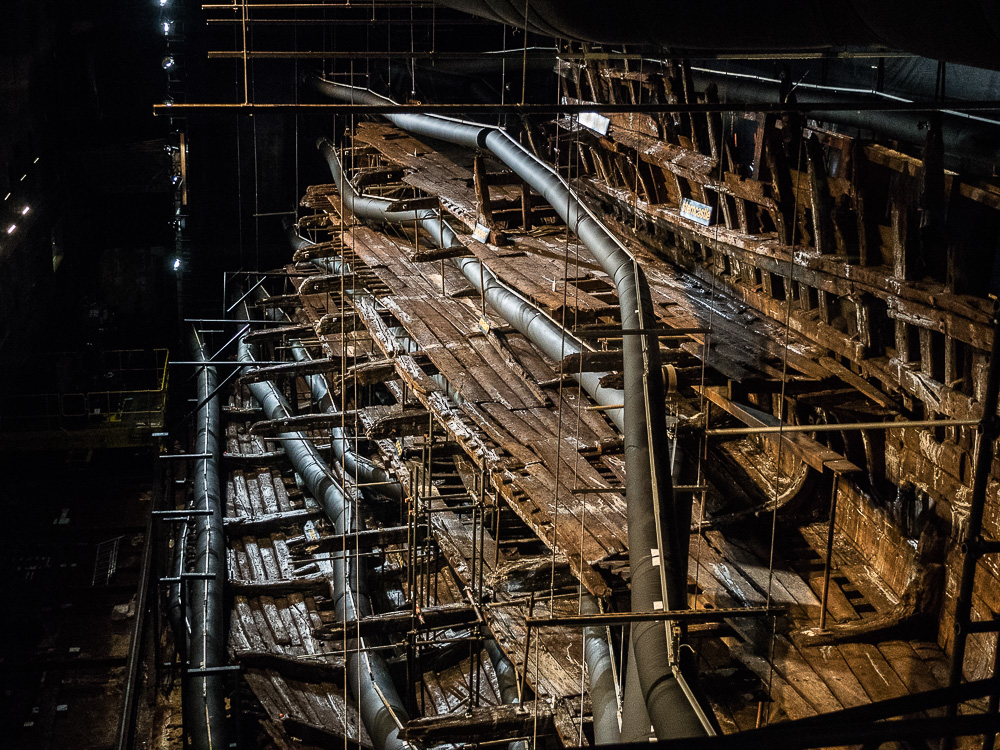 The Mary Rose hull