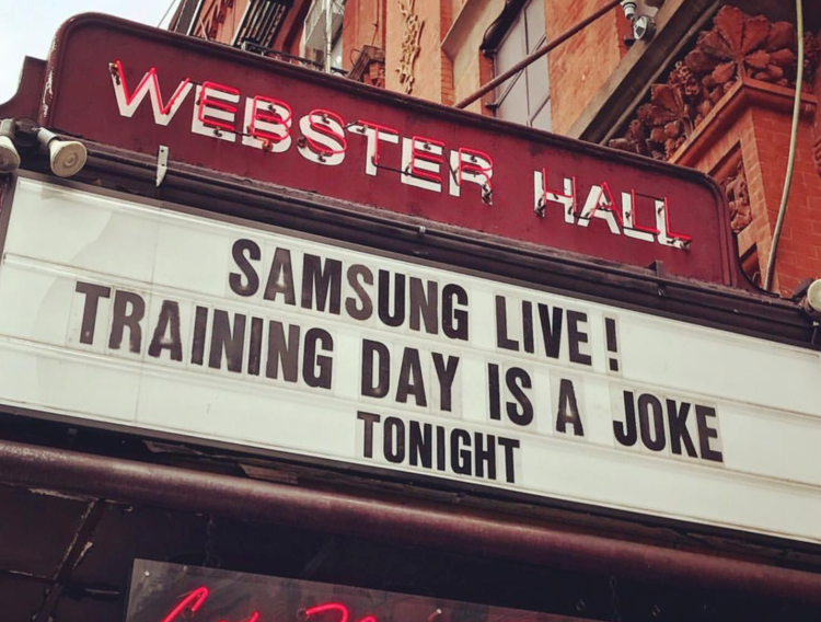 And helped another tech brand turn training into a joke. - Samsung Live