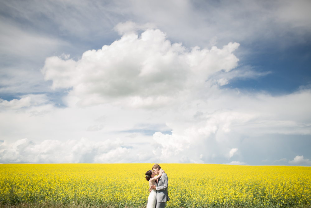 Lumsden Sask wedding