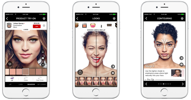 [French chain cosmetic store, Sephora connects users to reviews on their mobile app that help consumers in store and attract audiences in close proximities]