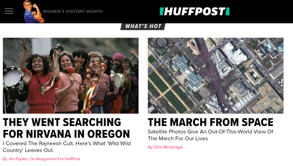 [Since 2005, the Huffington Post blog brings hard-hitting news to the forefront - sharing facts, ideas and expertise]