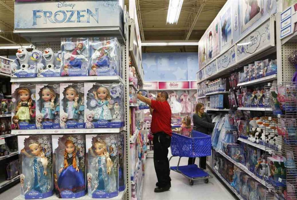 "Although Anna and Elsa are equally important in Disney's animated movie Frozen, Elsa toys dominate in retail with stores selling "" two Elsas for every Anna "" according to  Wall Street Journal . Some have speculated that Elsa's icy powers in the film are what gives her the edge over her sister."
