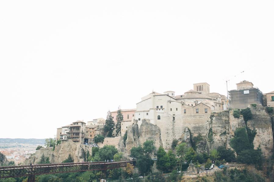 Las vistas de la zona vieja de Cuenca desde el Parador.