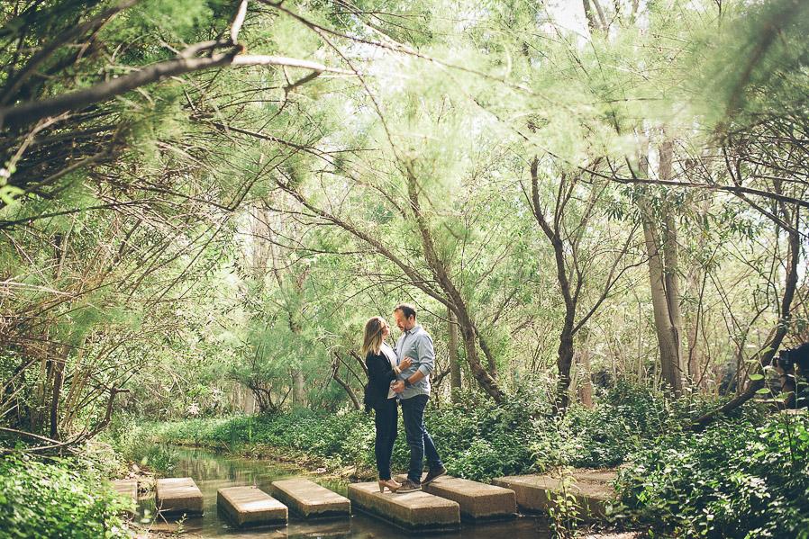 Las fotos las hicimos en nuestro ya casi tradicional Parque de La Rambleta. En primavera mola mucho, como podéis ver.