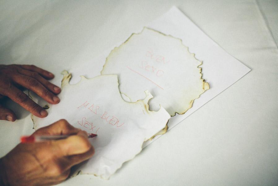 Momento en el que los novios expresan sus deseos de futuro, por escrito ¿Se puede pedir algo mejor? ¡NO!