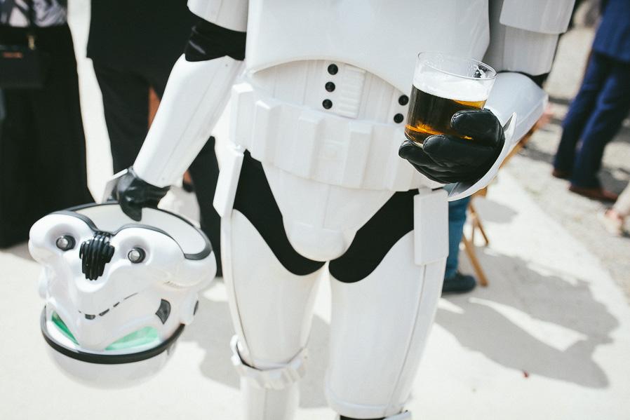 Los stormtroopers también tienen derecho a descansar.