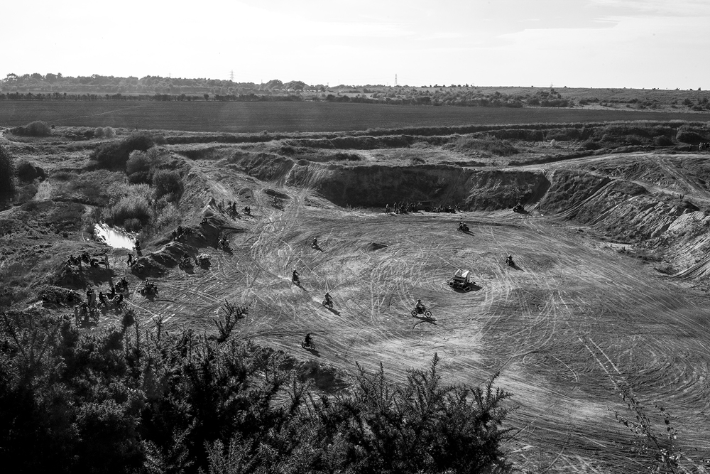 "Tillbury sand quarry. the location was recently found by bikelife and has quickly become a popular riding spot. As yet they have not had any problems with police.   One of the biggest difficulties of being in the bikelife scene is the constant pressure from police for them to move on from their riding spots ""They waste so much of the taxpayers money to try and stop us from riding, and for what?"""