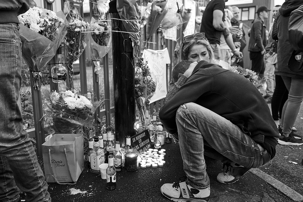 """""""He was my best friend, I cant believe he's gone""""  Arlo breaks down at a memorial for his best friend Carl, a popular member of the Bikelife community, who was killed in an accident on the 10th July 2016."""