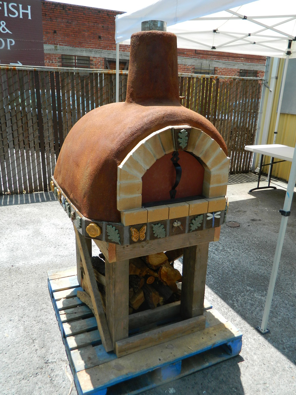 "Wood-fired ovens are an exciting mix of form and function, and an irresistible  focal point around which to gather friends and community!  ""California Craftsman Oven"" 2013"