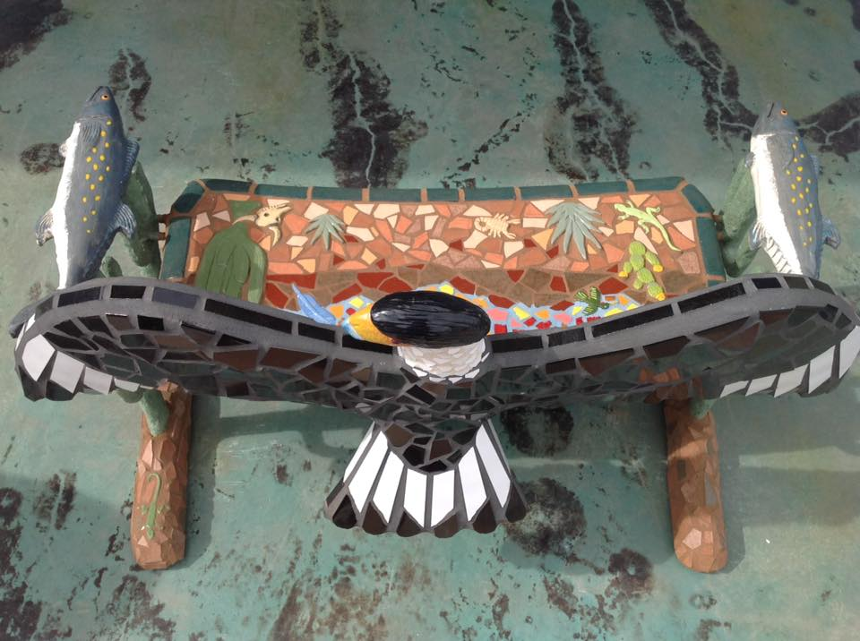 """Baja Critter Bench"" (Top View)"