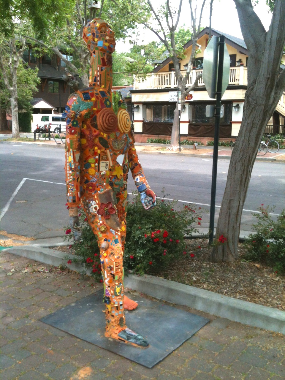"Collaboration, aka ""JACK""  Located on 3rd and G st in   downtown Davis, CA   Built with community and CA college collaboration"