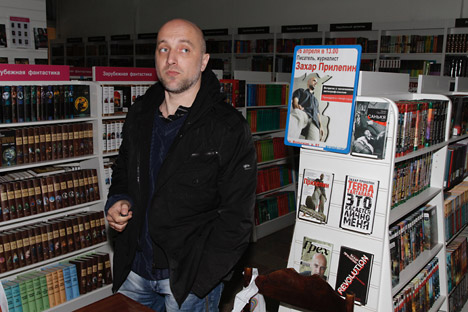 Russia's writer Zakhar Prilepin. Source: Press Photo