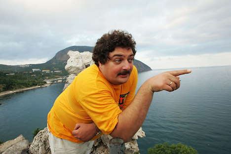 Dmitry Bykov, a multi-award-winning author, journalist and flamboyant media personality. Source: ITAR-TASS