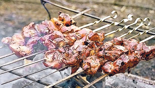 Shashlik in the City