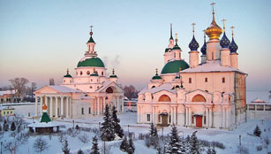 St Jacob's monastery - sunset