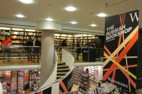 A new Russian-language bookstore in London. Source: Phoebe Taplin