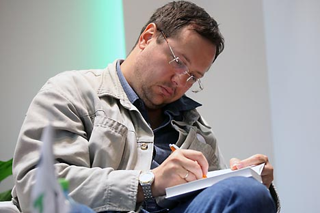 Alexander Ilichevsky, one of Russia's most prominent contemporary writers. Source: RIA Novosti / Vladimir Pesnya
