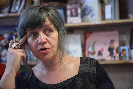 Svetlana Martynchik, a Russian writer from Odessa. Source: RIA Novosti / Valery Melnikov