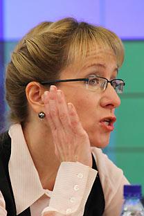 Irina Yasina. Source: RIA Novosti / Alexander Natruskin