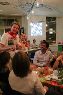 """Supperclub Summit"" in the refurbished Goethe Institute in Kensington Source: Nataliya Nestman"