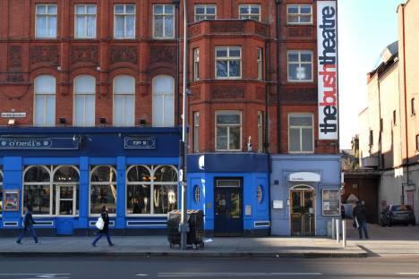The Bush Theatre, Shepherds Bush, West London, Britain. Source: Insight-Visual UK / Rex Features