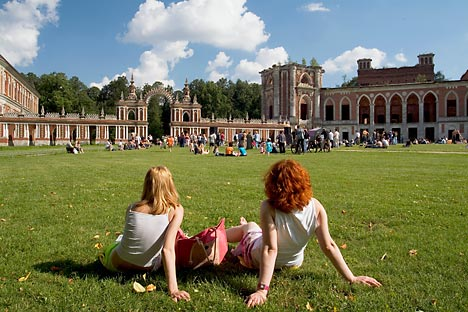 Imperial vision: Catherine the Great's follies at Tsaritsyno. Source: Corbis / Foto SA