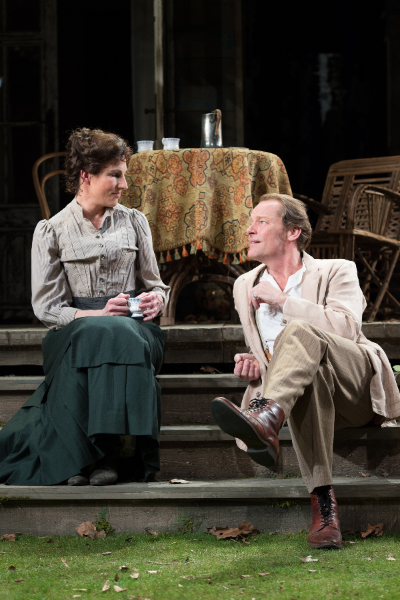 Tamsin Greig and Ian Glen in Longing Source: Manuel Harlan