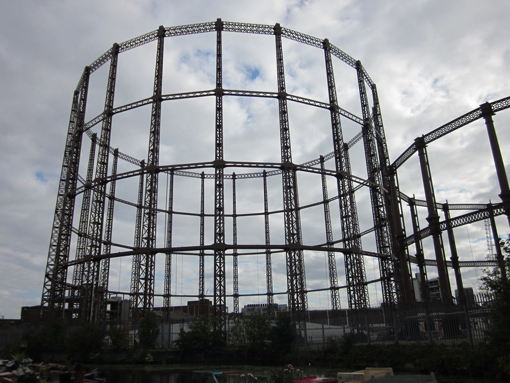 and iconic gas holders