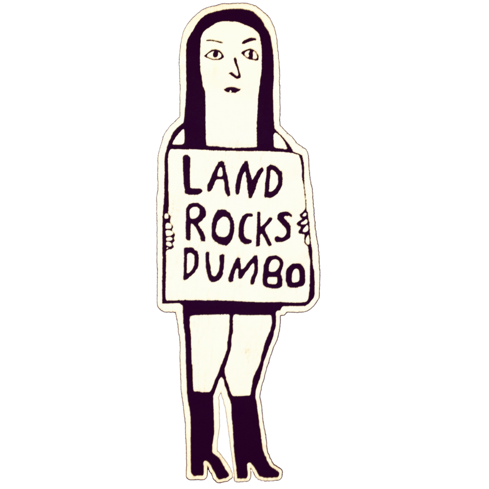 land rocks dumbo logo