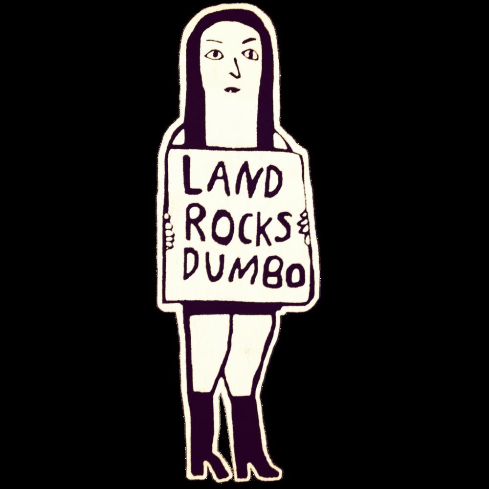 land rocks dumbo logo