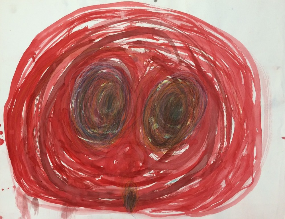 Joyce Frizell, Untitled, 2014, Acrylic on Paper, 20%22x26%22.JPG