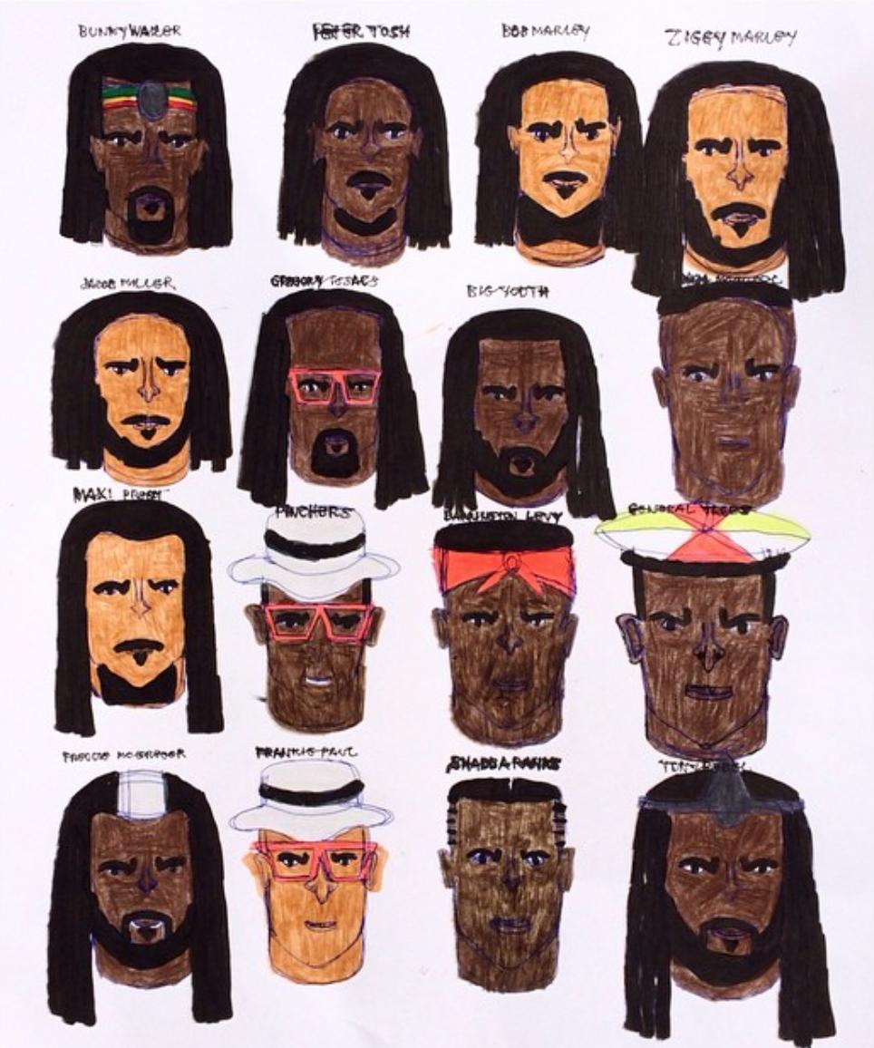 Kenya Hanley, Reggae, 2015, Ink on Paper, 24%22x19%22.png