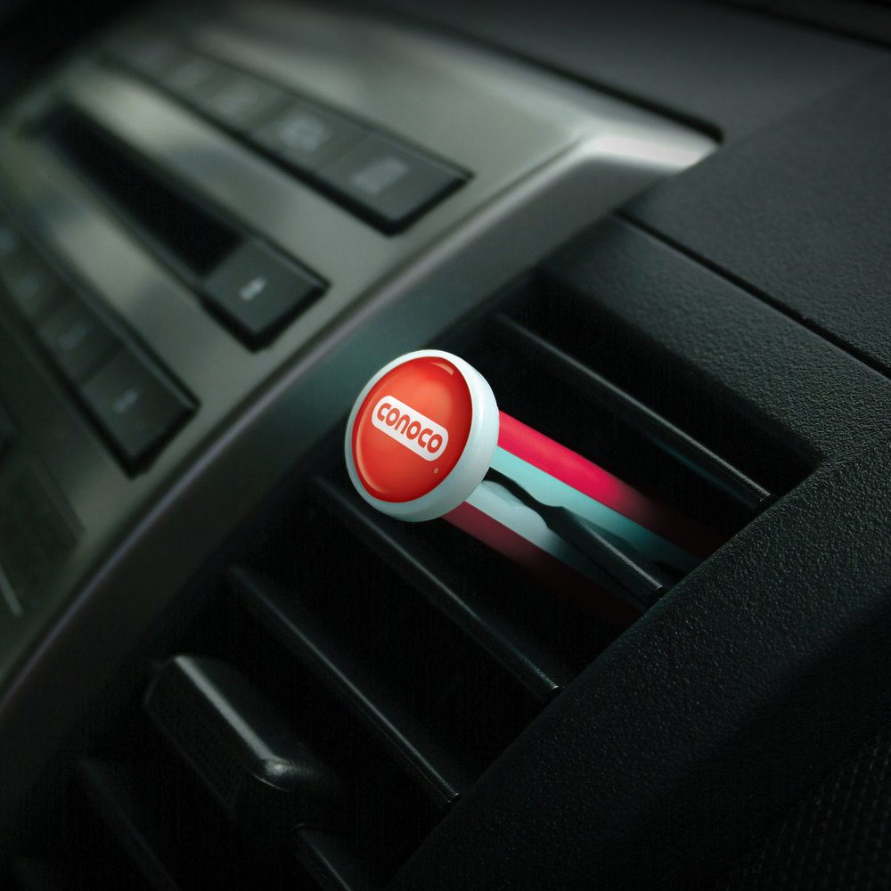 Hot Rod™ Vent Stick promotional product - Slides gently into auto air vent.