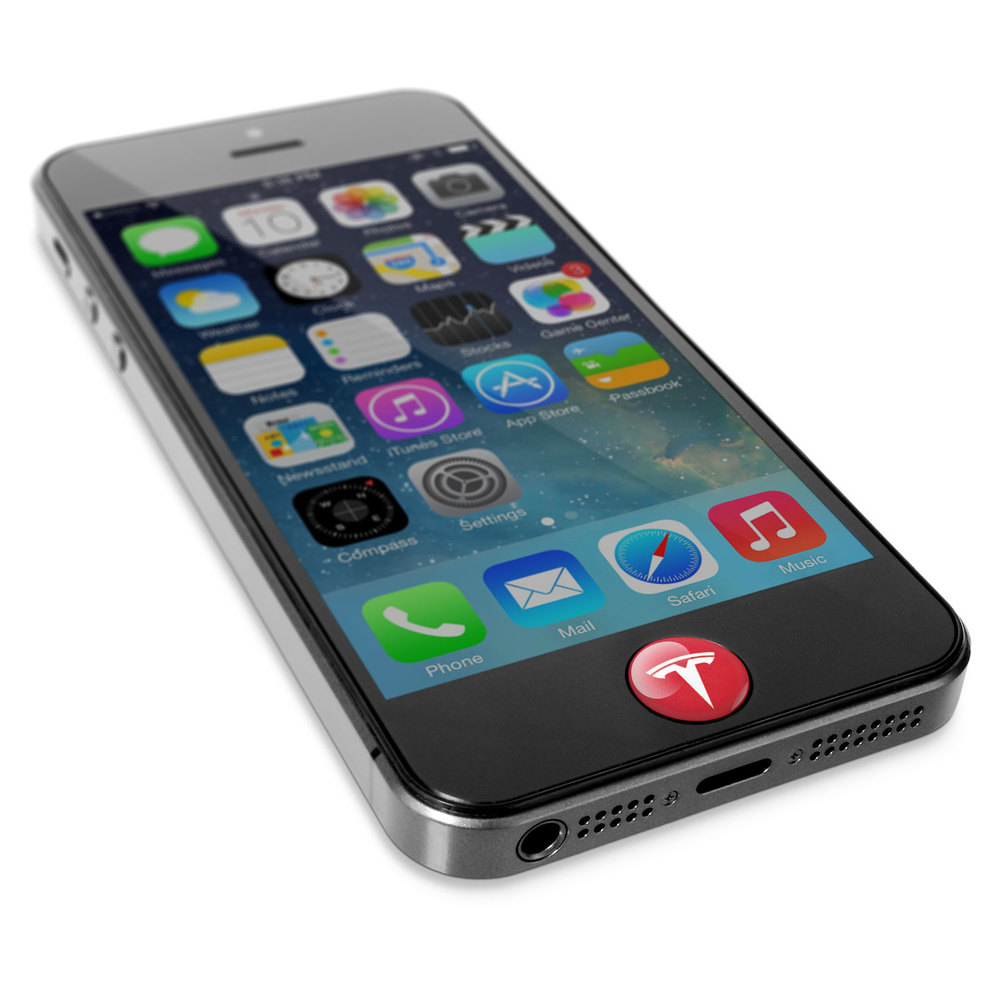 Gadget Grips® DOT™ promotional product - Gives your home button a tactile grip.