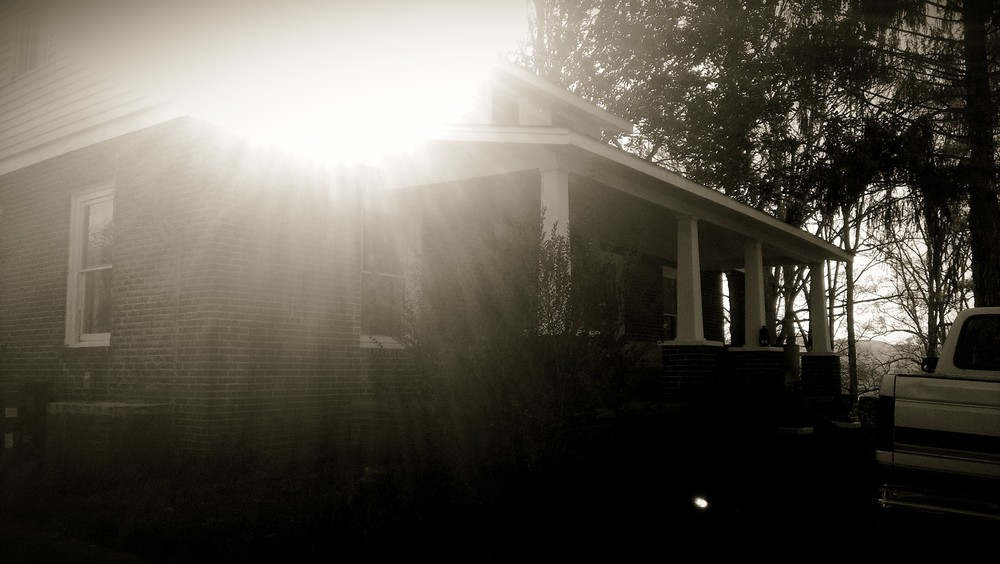 The Leaning Duck Farm homestead