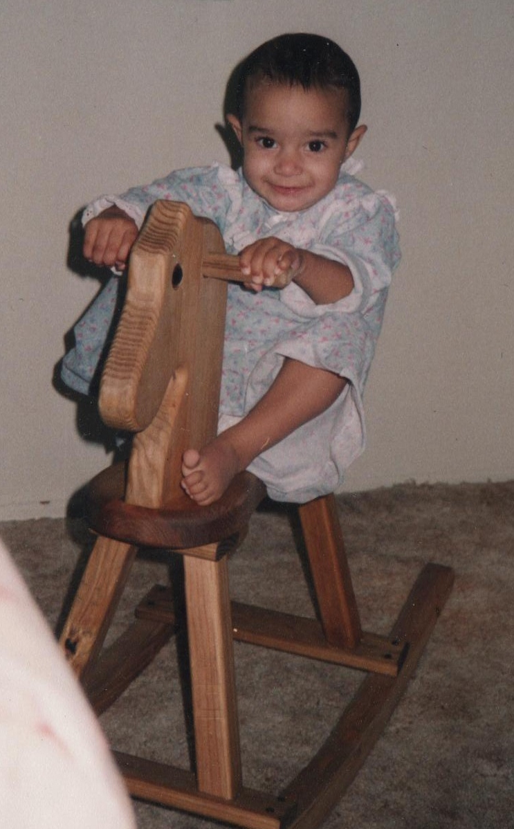 Alexa at 18 months old