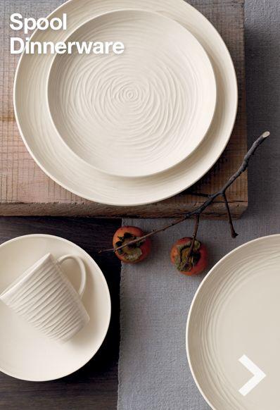 Catalogue Photo Spread Spool Dinnerware for Royal Stafford / Crate \u0026 Barrel & Spool Dinnerware / Crate \u0026 Barrel 2012 \u2014 OLIVIA BARRY