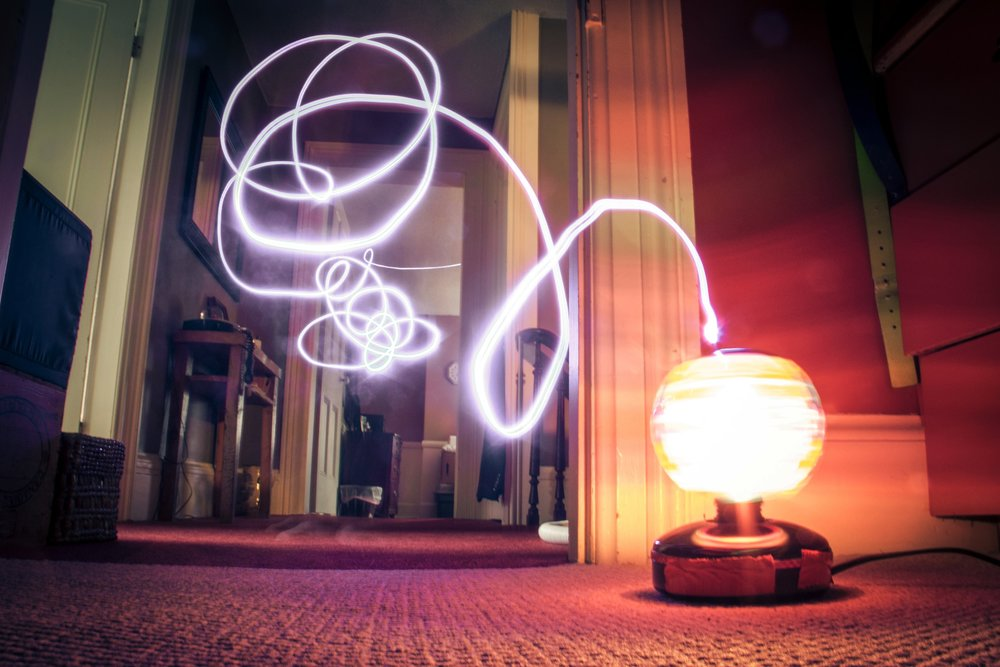 LIGHT PAINTING - It's like being a Jedi photographer. You can't beat that!